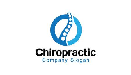 Chiropractie Ontwerp Illustratie