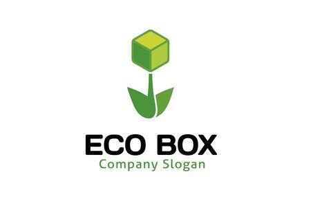box design: Eco Box Design Illustration Illustration