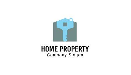 property: Home Property Design Ilustration