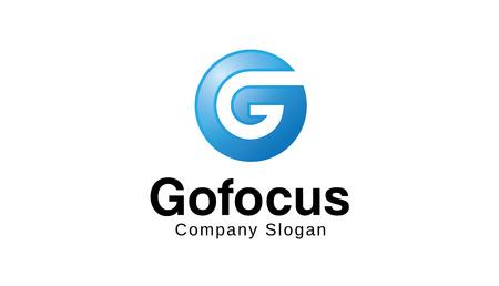 Gofocus Logo Design Illustration