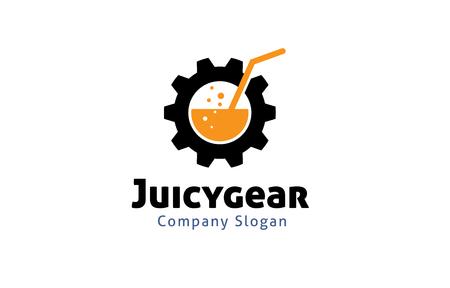 Juicy Gear Design Illustration