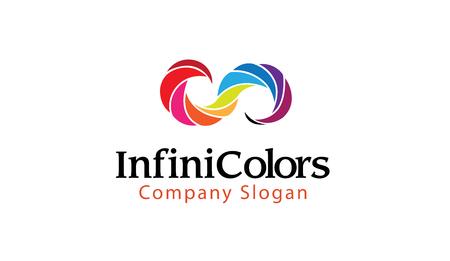 Infinite Color Design Illustration Ilustrace