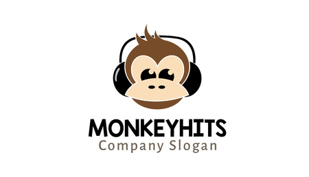hits: Hits Monkey Design Illustration