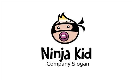 Ninja Kid Design Illustration