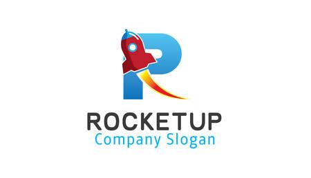 booster: Rocket up Design Illustration