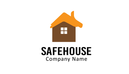 Safe House Design Illustration Illustration