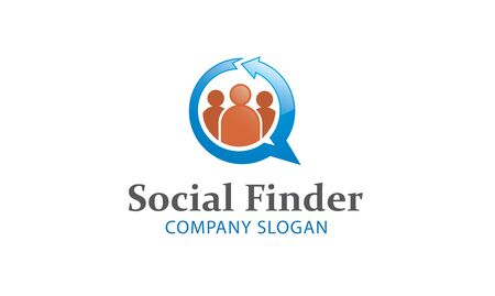 finder: Finder Social Design Illustration