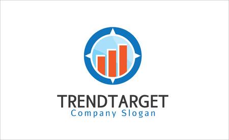 trend: Trend Target Illustration Design