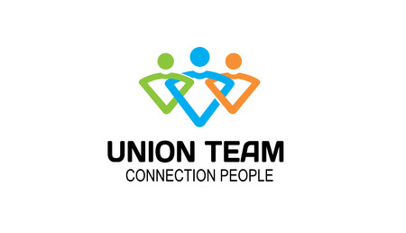 Union Team Ontwerp Illustratie