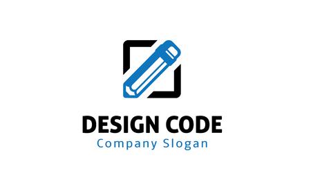 Code Symbol Design Ilustracja