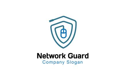 secured: Network Guard Design Illustration
