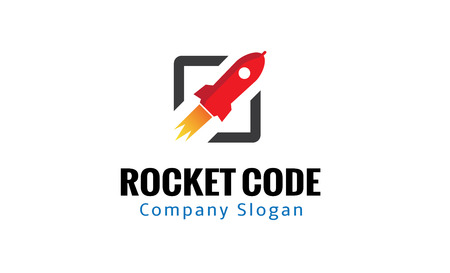 Code Rocket Design Illustration