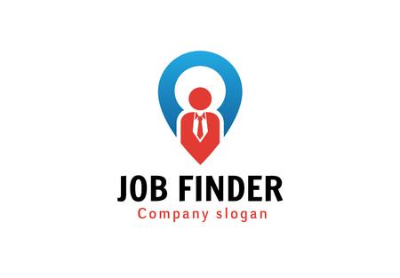 Job Finder Design Illustration