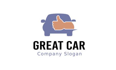 Great Car Design Illustration