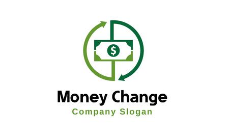 Change Money Design Illustration