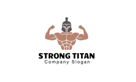 titan: Strong Titan Design Illustration