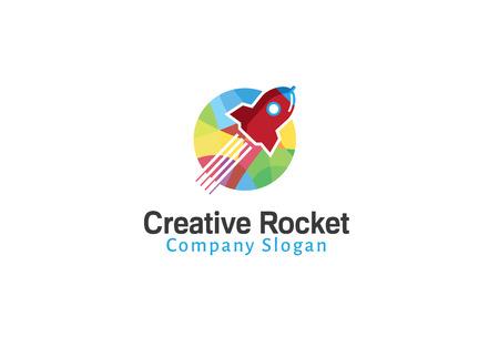 Rocket Creative Design Illustration  イラスト・ベクター素材