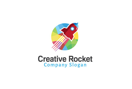 Rocket Creative Design Illustration 일러스트
