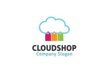 clouding: Cloud Design Illustration Shop Illustration