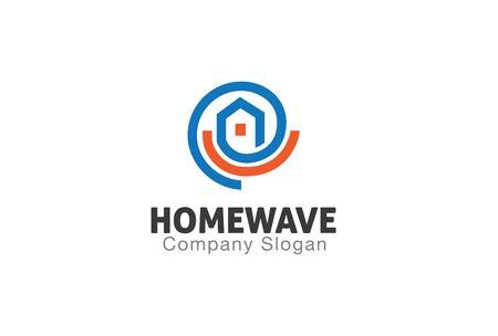 refit: Home Wave Design Illustration Illustration