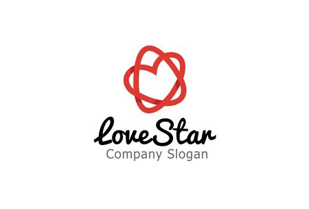 Love Star Design Illustration Фото со стока - 46341641