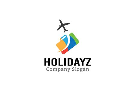 logotipo turismo: Holidayz Dise�o Ilustraci�n
