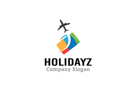 transportation travel: Holidayz Illustration Design