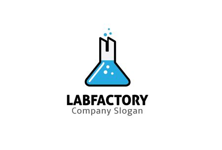 starter: Lab Factory Design Illustration Illustration