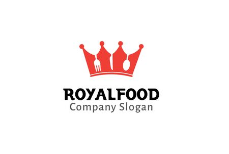 expensive food: Royal Food Design Illustration Illustration