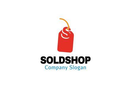 Sold Shop Design Illustration