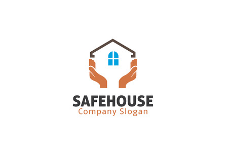 Safe House Design Illustration 向量圖像