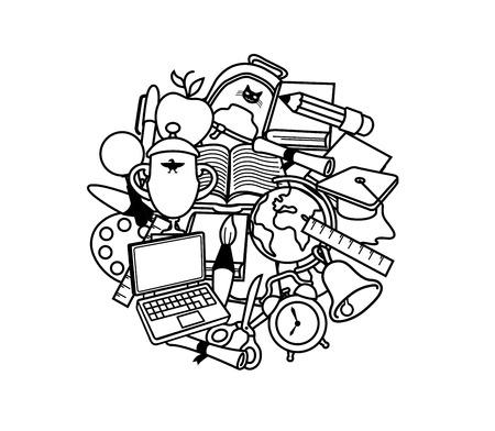 cognition: Back to school illustration
