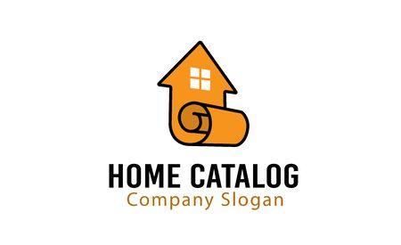 wall paper: Home Catalog Design Illustration