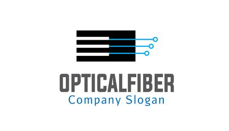 optical fiber: Optical Fiber Design Illustration