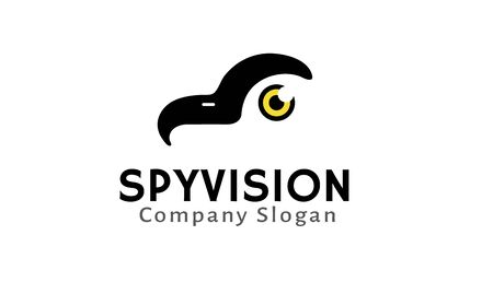 detective agency: Spy Vision Design Illustration