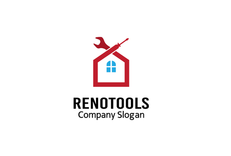 Reno Tools Design Illustration Фото со стока - 46703319