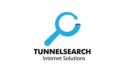 restart: Tunnel Search Design Illustration