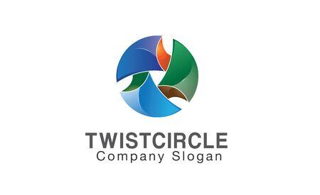 twist: Twist Circle Design Illustration