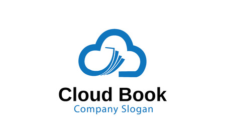 Cloud Book Design Illustration