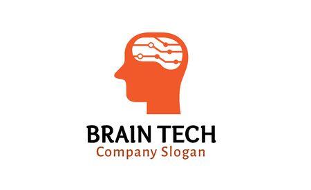brainwash: Brain Tech Design Illustration