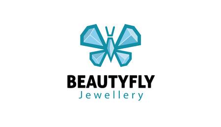 diamond cut: Beauty fly Design Illustration