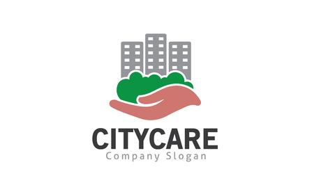 City Care Design Illustration  イラスト・ベクター素材