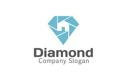 villas: Diamond Design Illustration