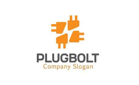 bolt: Plug Bolt Design Illustration
