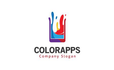 Color apps Design Illustration  イラスト・ベクター素材