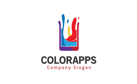 Color apps Design Illustration 向量圖像