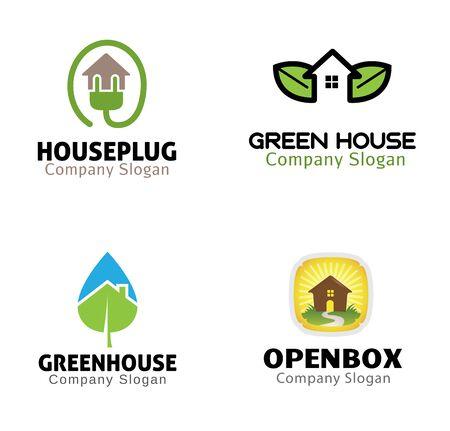 housing: Housing Nature Design Illustration