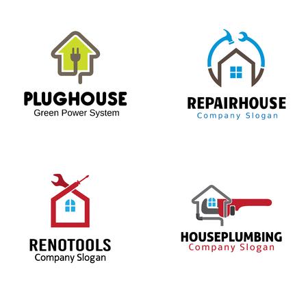 housing: Housing Plumbing Symbol Illustration