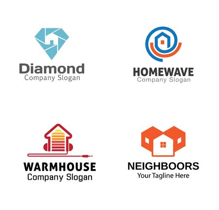 Housing Symbol Design Illustration
