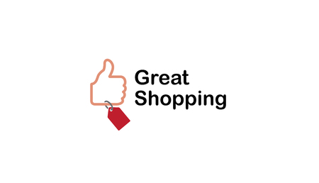check out: Great Shopping Logo Design Illustration